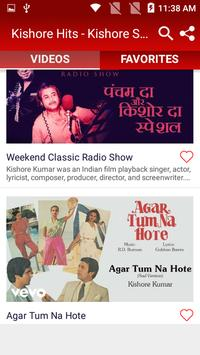 Kishore Hits - Kishore Songs - Old Hindi Songs screenshot 2