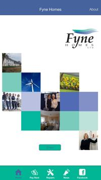 Fyne Homes Housing Association poster