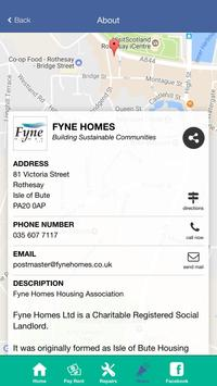 Fyne Homes Housing Association apk screenshot