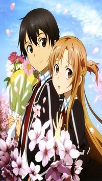 Kirito and Asuna Wallpaper screenshot 5