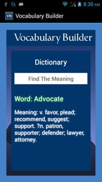 Vocabulary Builder screenshot 3