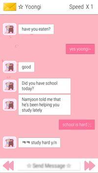 BTS Messenger screenshot 1