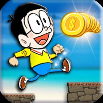 Nobita run adventure apk screenshot