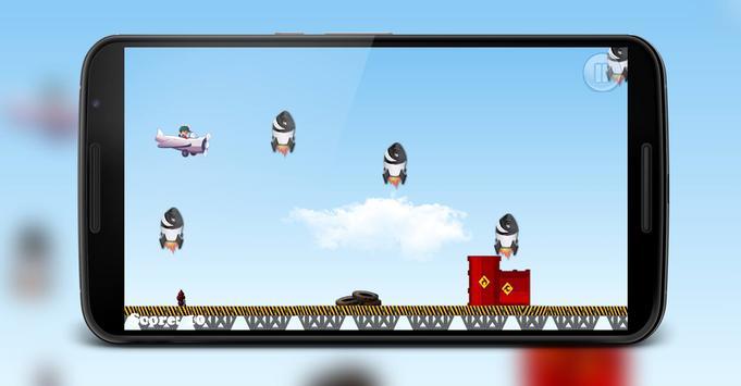 Boboboy plane game apk screenshot