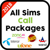2018 All Sim Call Packages icon