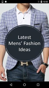 Latest Mens Fashion Design Ideas poster
