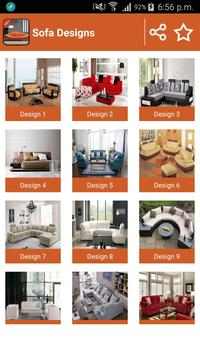 Latest Sofa Designs Ideas screenshot 2