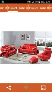 Latest Sofa Designs Ideas screenshot 5