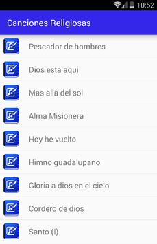 Canciones Religiosas apk screenshot