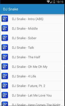 Dj Snake Songs apk screenshot