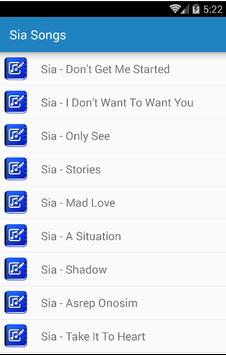 Sia Furler - The Greatest apk screenshot