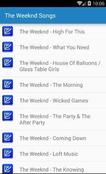 Starboy - The Weeknd apk screenshot