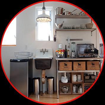 kitchen storage design apk screenshot