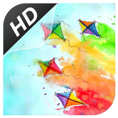 Kites HD Wallpaper icon