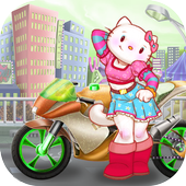 Kitty Racing Game Adventures icon