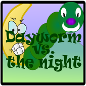 Dayworm vs. the night icon