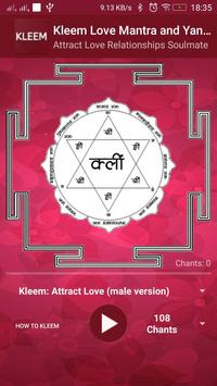 Kleem Mantra : beej mantra for Love and Attraction poster