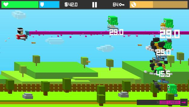 Tappy Sky– Endless Tap Shooter screenshot 1