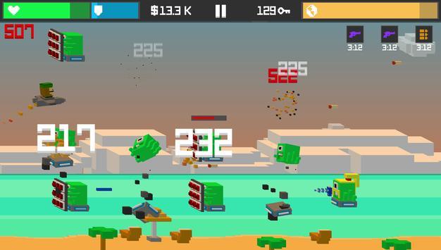 Tappy Sky– Endless Tap Shooter screenshot 2