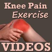 Knee Pain Exercise Yoga VIDEOs icon