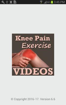 Knee Pain Exercise Yoga VIDEOs poster