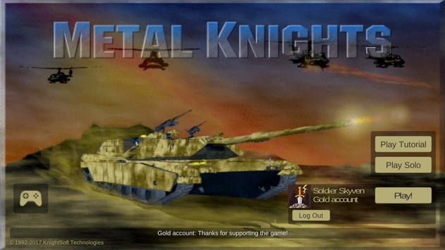 Metal Knights poster