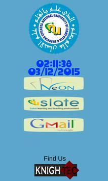 NU APP poster