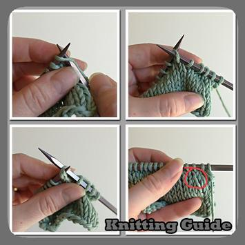 Knitting Guide poster