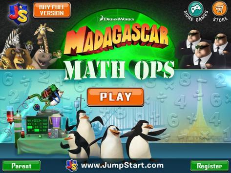 Madagascar Math Ops Free poster