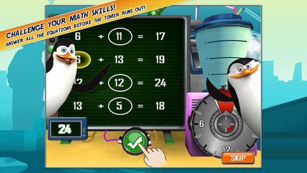 Madagascar Math Ops Free apk screenshot