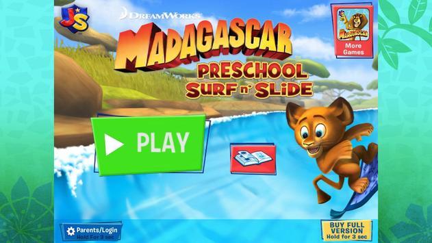 Madagascar Surf n' Slides Free apk screenshot