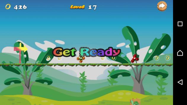 Knuckles Sonic Run Bros apk screenshot