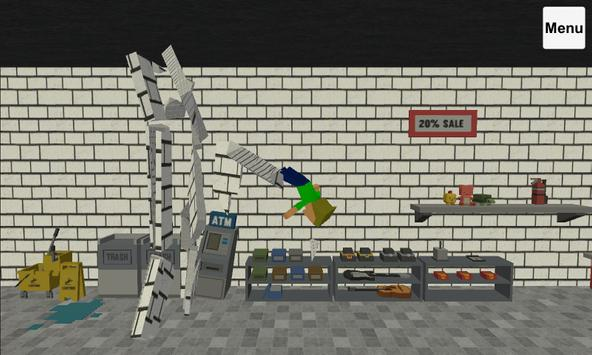 Ragdoll Shop Wrecker captura de pantalla 1