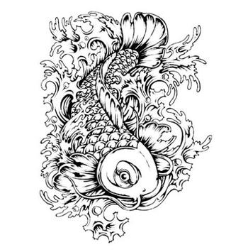 Koi Fish Sketch screenshot 4