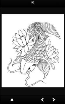 Koi Fish Sketch screenshot 2
