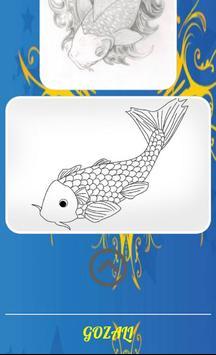 Koi Fish Sketch screenshot 3