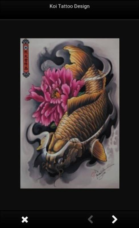 99a61c9f3 Koi Tattoo Design for Android - APK Download