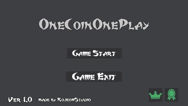 OneCoinOnePlay poster