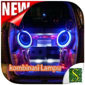 Kombinasi Lampu Mobil icon