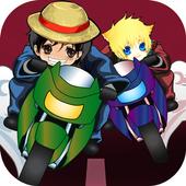 Konoha Ninja Vs Louffy Racing Adventures icon