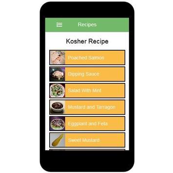 Kosher Recipes screenshot 1