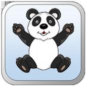 Panda Fall icon