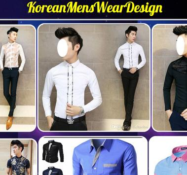 Korean Men's Wear Design poster