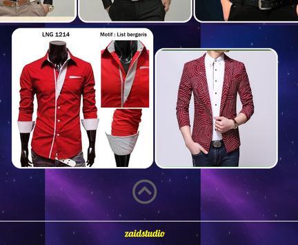 Korean Men's Wear Design screenshot 4