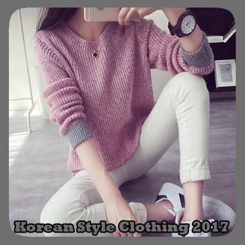 Korean Style Clothing 2017 poster