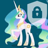 Celestia Little Pony Security Lock Screen icon