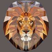 Beautiful Lion King Art Watercolor App Lock icon