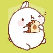 Kawaii Little Cute Funny Rabbit Bunny App Lock icon