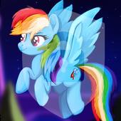 Little Pony Princess Friendship Art App Lock icon