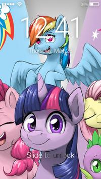 Little Pony Princess Friendship Art App Lock apk screenshot